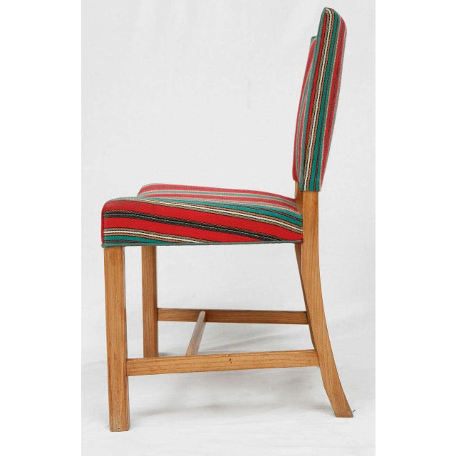 1940s Set of Eight Kaare Klint Dining Chairs For Sale - Image 5 of 10