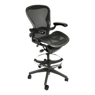 Herman Miller Aeron Fully Loaded Drafting Stool, Size B