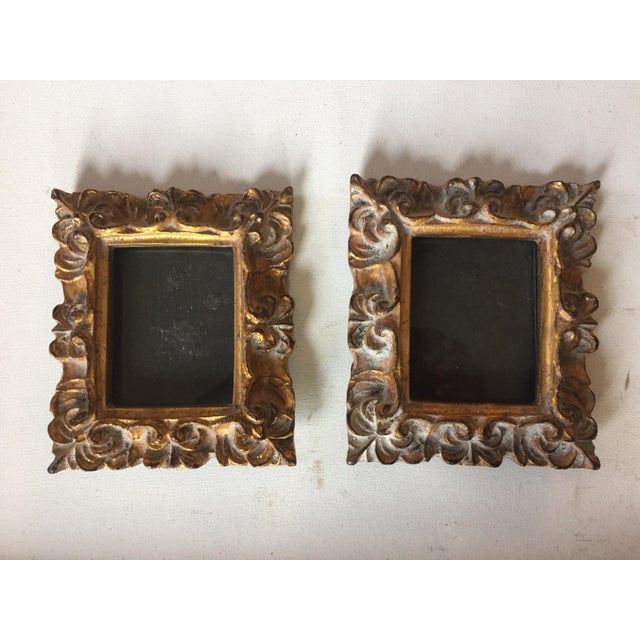 Vintage Italian Composite Small Photo Frames - a Pair - Image 2 of 5