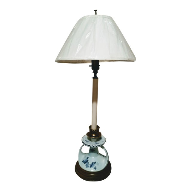 Vintage Deft Candle Stick Table Lamp - Image 1 of 5