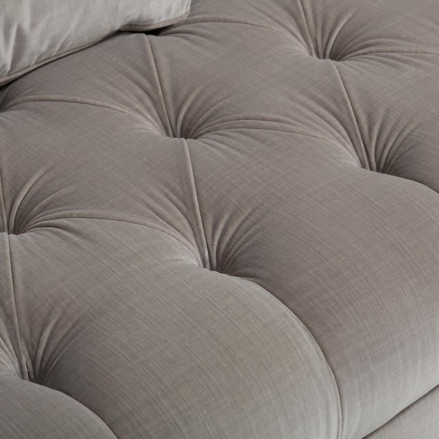 Customizable The Deep Buttoned Sofa by Talisman Bespoke For Sale - Image 9 of 11
