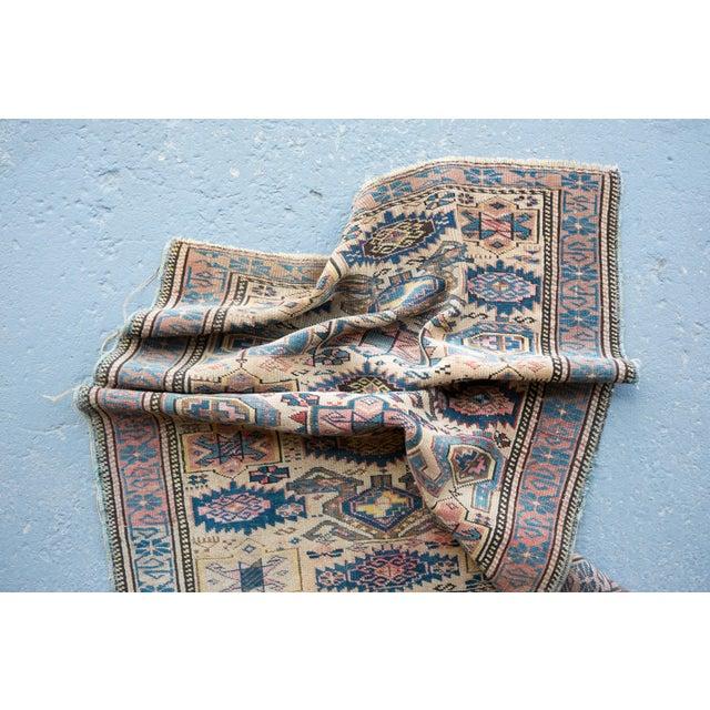 """Antique Caucasian Kuba Rug -- 2'11"""" x 3'7"""" - Image 7 of 7"""