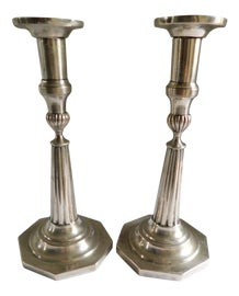 Image of Silver Candle Holders