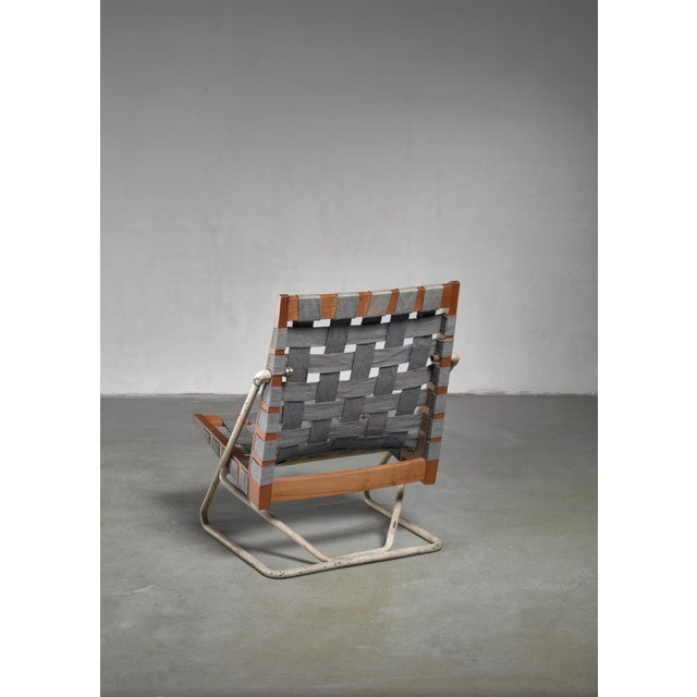 Mid-Century Modern Walter Gindele Prototype Chair, Austria For Sale - Image 3 of 7