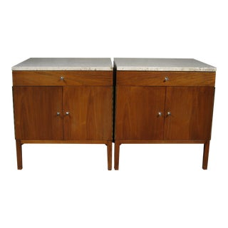 Paul McCobb Calvin Side Tables - a Pair, Storage Cabinets For Sale