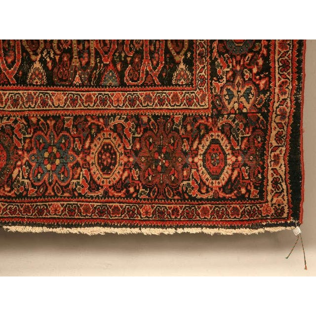 Antique Persian Bidjar Rug - 4′ × 6′4″ For Sale In Chicago - Image 6 of 10