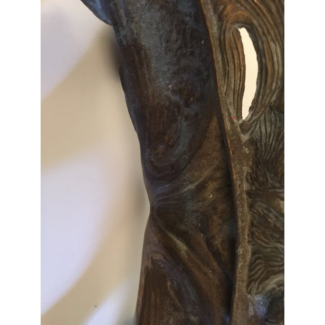 Bronze 1920s Bronze Art Nouveau Jardiniere For Sale - Image 8 of 11