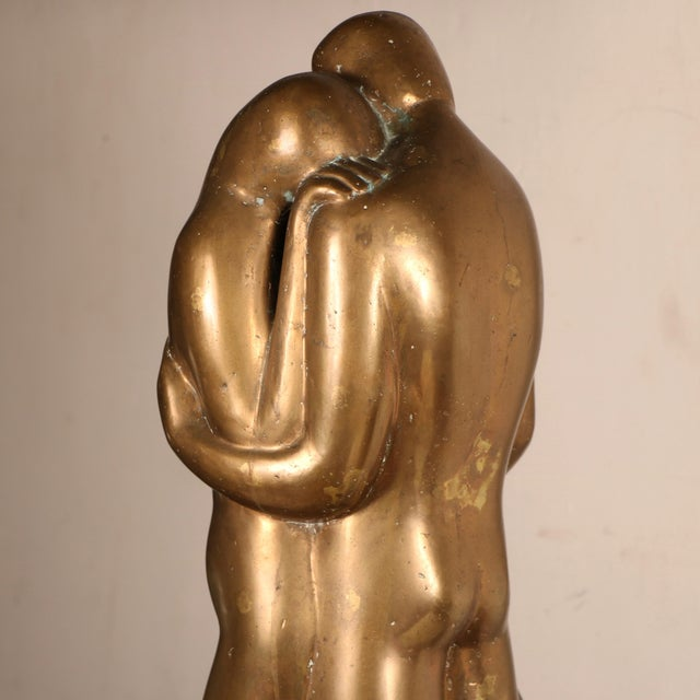 Lovers Sculpture by Louis Derbré - Image 7 of 11