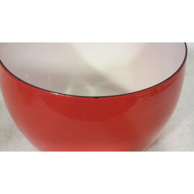 Dansk IHQ Red Enamel Bowl - Image 5 of 7
