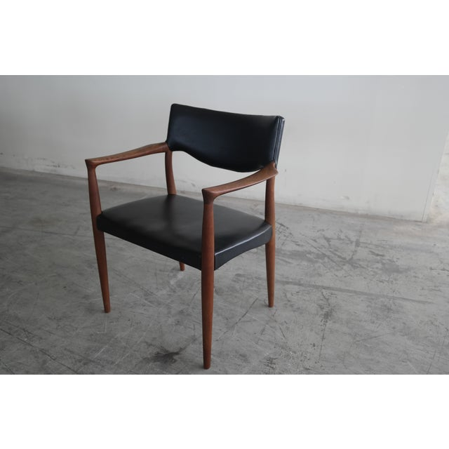 Bender Madsen Mid-Century Teak Chairs - A Pair - Image 4 of 8