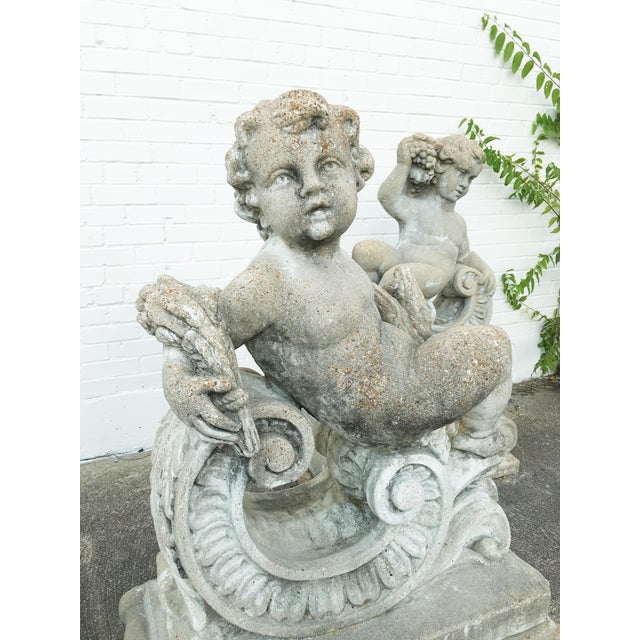 A Set of Four Allegorical Putti Emblematic of the Seasons For Sale - Image 4 of 12