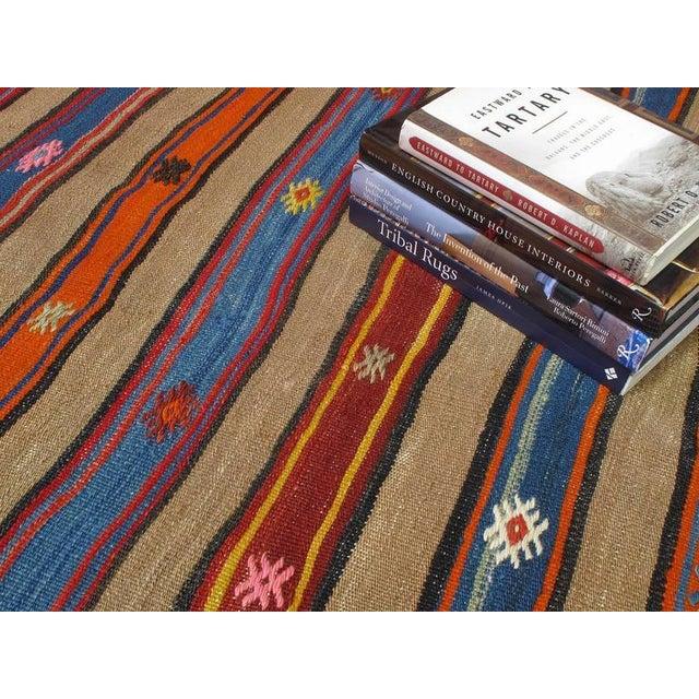 Textile Fethiye Camel Kilim For Sale - Image 7 of 9