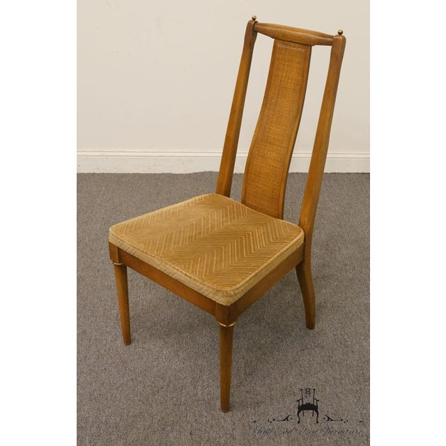 Modern Late 20th Century Vintage American of Martinsville Asian Inspired Dining Chair For Sale - Image 3 of 8