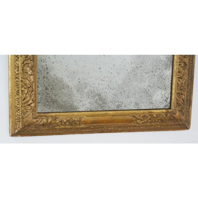 Mid 18th Century 18th Century Giltwood Frame Mirror For Sale - Image 5 of 6