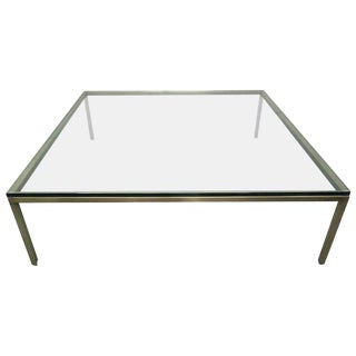 French Large Bronze Table