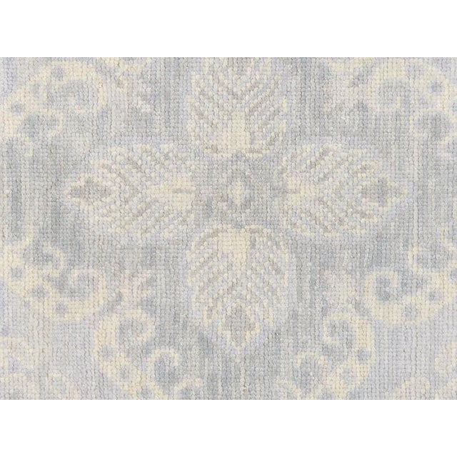Light Gray Hand-Knotted Wool Area Rug - 8' x 10' - Image 2 of 2