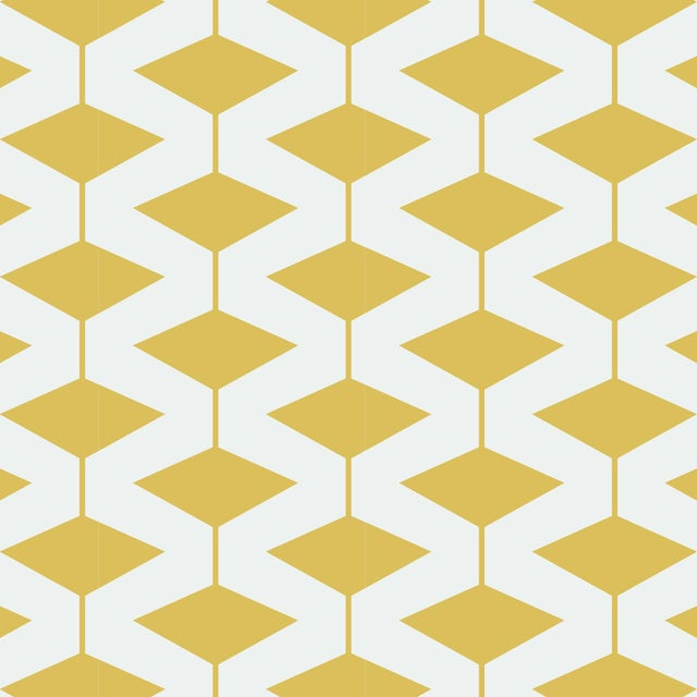 Yellow Abacus Wallpaper Remnant by Mitchell Black - Image 1 of 2