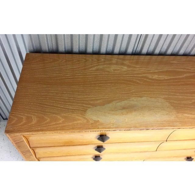 Brown Saltman Paul Frankl for Brown Saltman Dresser & Mirror For Sale - Image 4 of 13