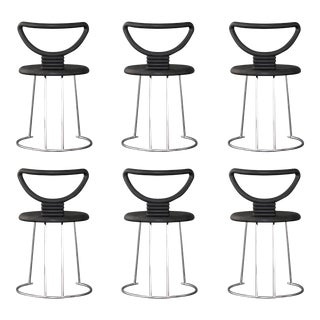 "Nobu Tanigawa ""Nardis"" Dining Chairs - Set of 6 For Sale"