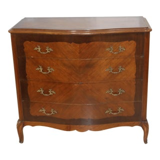 20th Century French Provincial Chest of Drawers For Sale