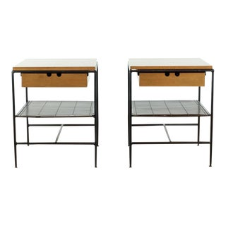 Contemporary Paul McCobb Planner Nightstands - a Pair For Sale