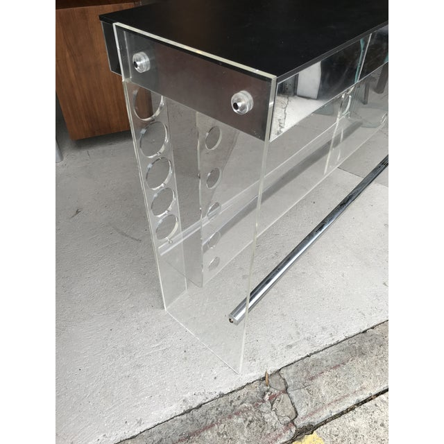 Lucite Ghost Bar Hill Manufacturing For Sale In New York - Image 6 of 10
