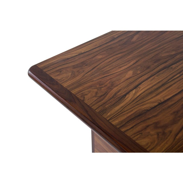 Danish Modern Rosewood Desk For Sale - Image 9 of 10