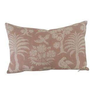 Schumacher Woodland Silhouette Lumbar Pillow