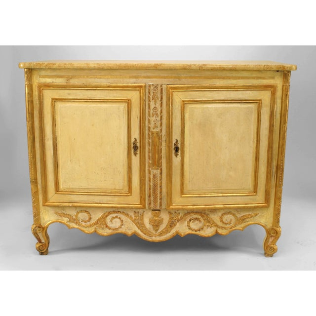 Late 18th Century Late 18th or Early 19th Century Italian Gilt-Trimmed Commode For Sale - Image 5 of 5
