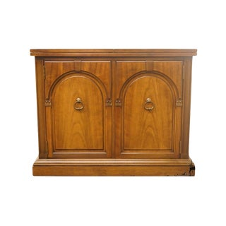 "Drexel Ponte Vecchi Collection Italian Neoclassical 40"" Flip-Top Server For Sale"