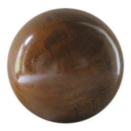 Vintage Brown Yard Ball