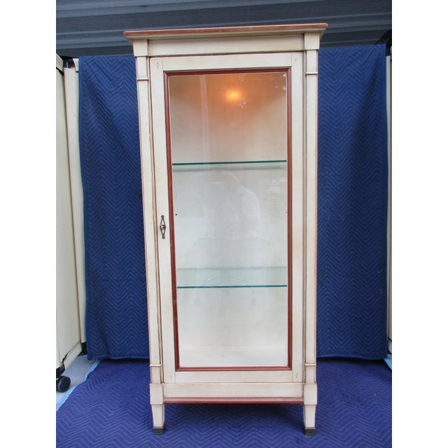 This beautiful cabinet is from Grange, a quality manufacturer out of France. This is a well-crafted piece with thick...