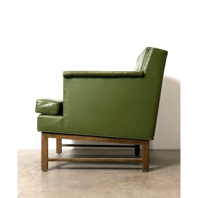 Wood 1950s Vintage Edward Wormley for Dunbar Petite Lounge Chair For Sale - Image 7 of 11