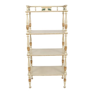 Swedish Painted Etagere For Sale