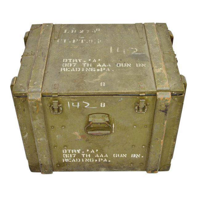 United States Army AAA Gun Site Equipment Crate For Sale - Image 13 of 13