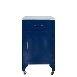 Blue Fpi Industry Metal Cabinet Circa 1964 For Sale