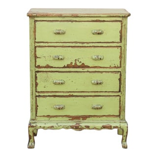 Anthropologie Tall Boy Four Drawer Dresser