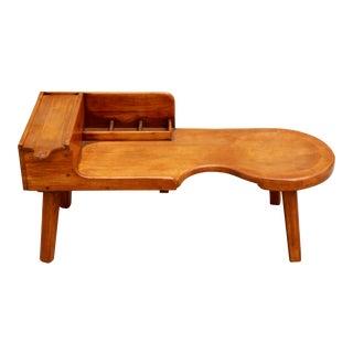 O'Hearn Gardner, Ma Sugar Maple Cobbler's Table / Bench Antique