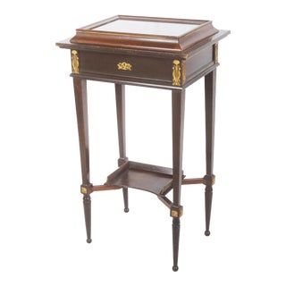 Beautiful Art Nouveau Display Console Table For Sale