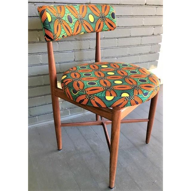 Mid-Century Modern Vintage Mid Century G Plan Dining Chairs- Set of 4 For Sale - Image 3 of 10