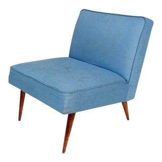 Mid-Century Modern Slipper Chair For Sale