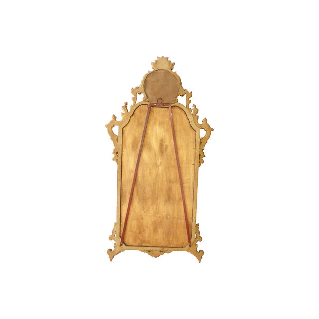 Italian Carved Gilt Wood Mirror - Image 7 of 7