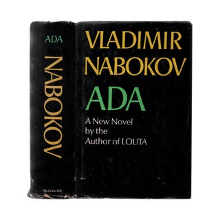 "1969 ""Ada or Ardor: A Family Chronicle"" Collectible Book For Sale"