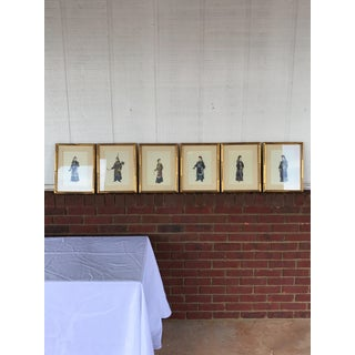 Set of 6 Chinoiserie Lithographs Preview