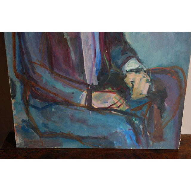 Portrait Painting, Circa 1960 For Sale - Image 4 of 8
