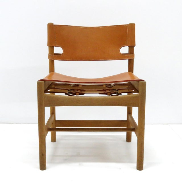 """1960s 1960s Vintage Børge Mogensen """"Hunting"""" Chairs- Set of 6 For Sale - Image 5 of 11"""