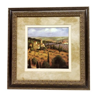 """""""Tuscany at Sunset"""" Lithograph For Sale"""