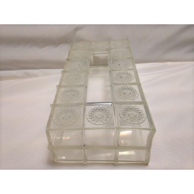 Hollywood Regency Mid-Century Lucite Tissue Holder For Sale - Image 3 of 7