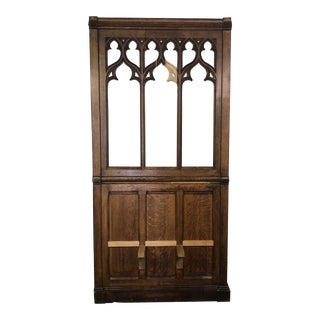1870 European Church Confessional Panel For Sale