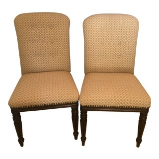 English Regency Mahogany Dining /Side Chairs - a Pair For Sale